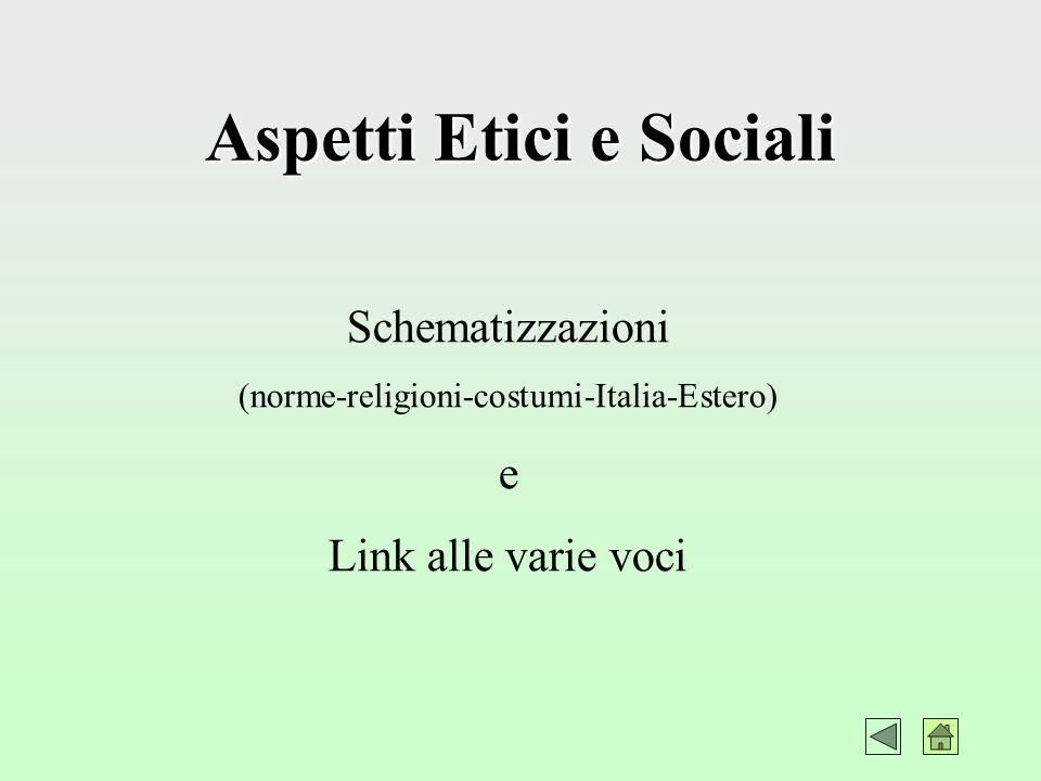 Aspetti Etici e Sociali