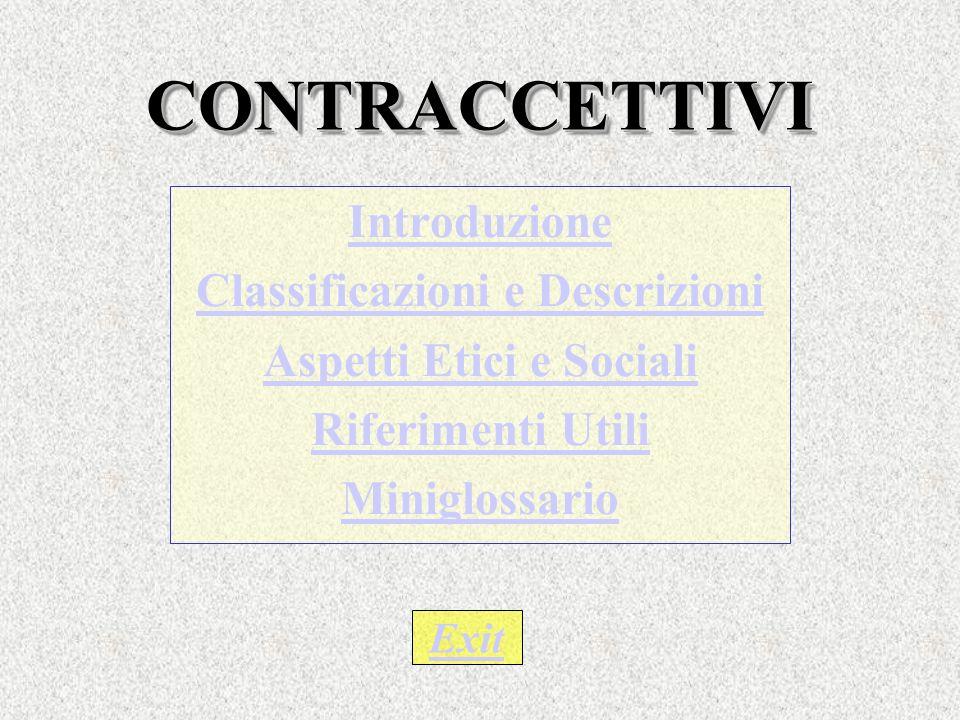 Classificazioni e Descrizioni Aspetti Etici e Sociali
