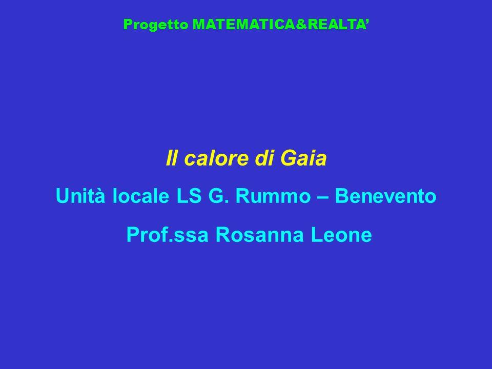 Unità locale LS G. Rummo – Benevento