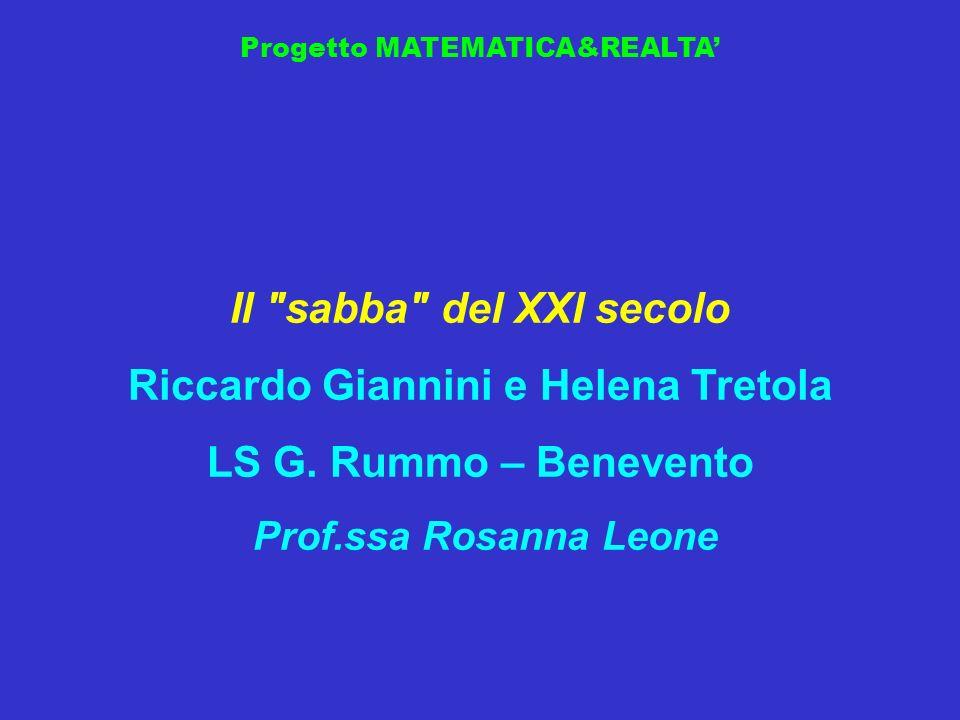 Riccardo Giannini e Helena Tretola