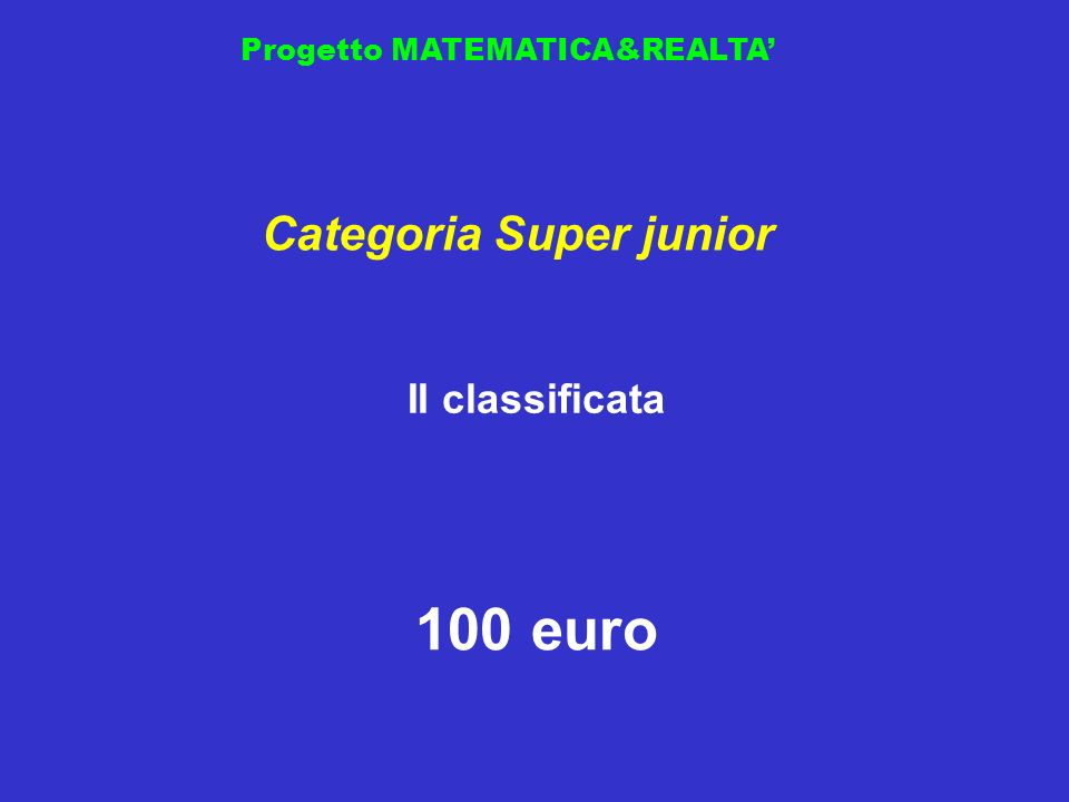 Categoria Super junior