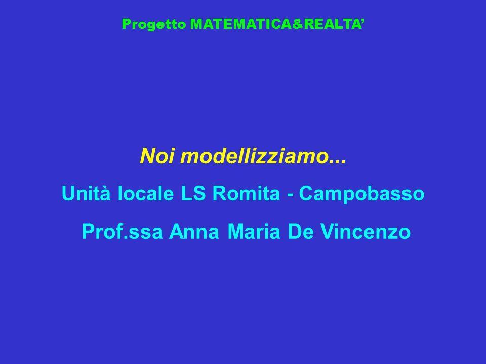 Unità locale LS Romita - Campobasso Prof.ssa Anna Maria De Vincenzo