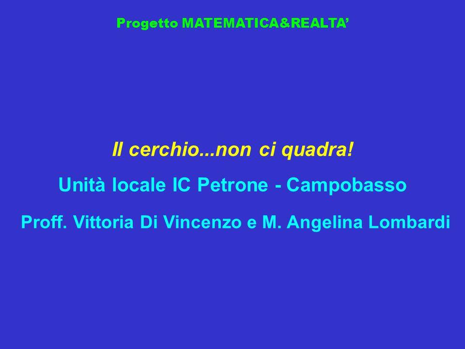 Proff. Vittoria Di Vincenzo e M. Angelina Lombardi
