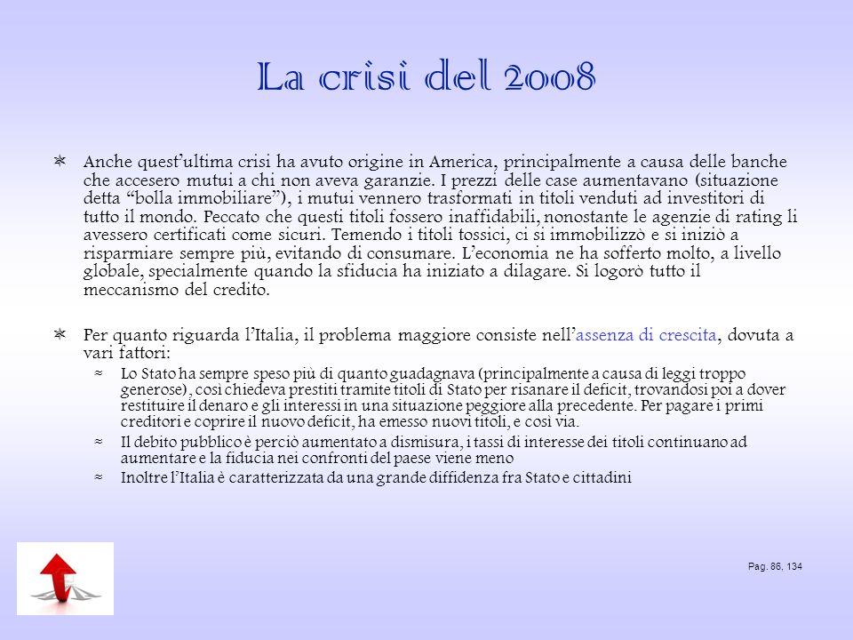 La crisi del 2008