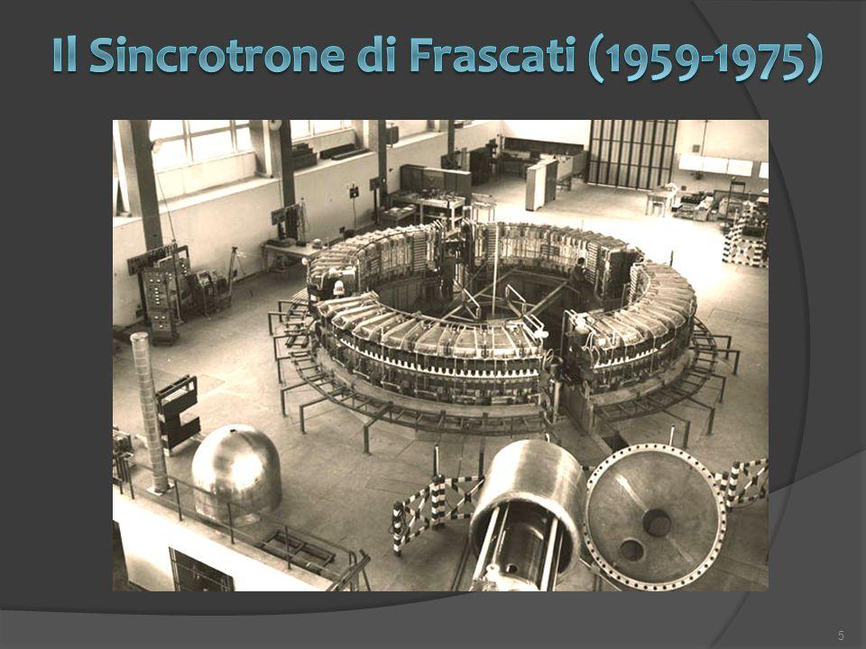 Il Sincrotrone di Frascati (1959-1975)