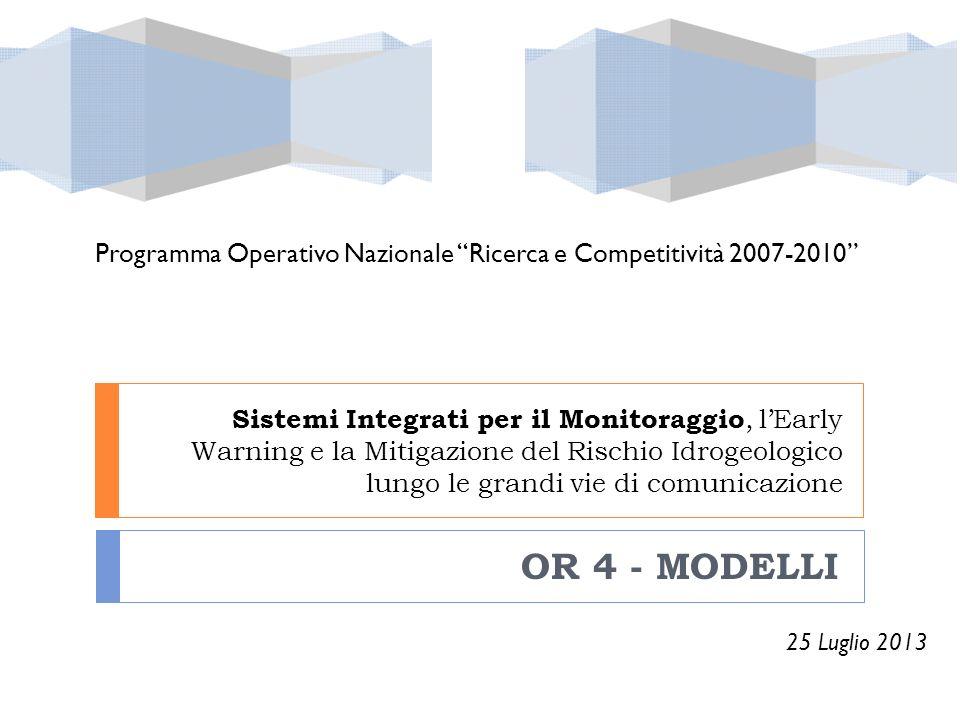 Programma Operativo Nazionale Ricerca e Competitività 2007-2010
