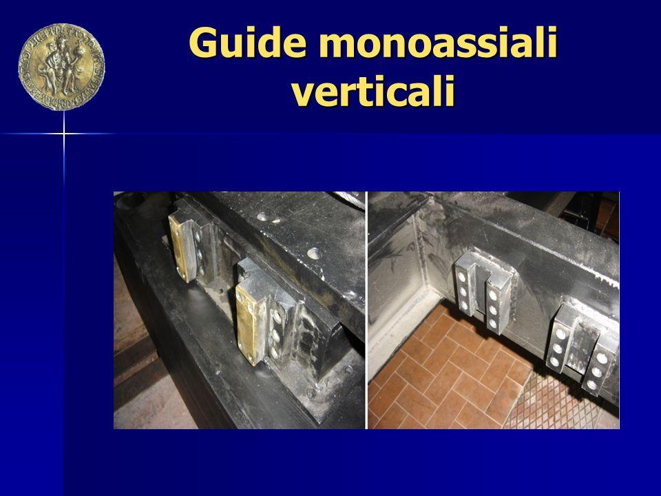 Guide monoassiali verticali