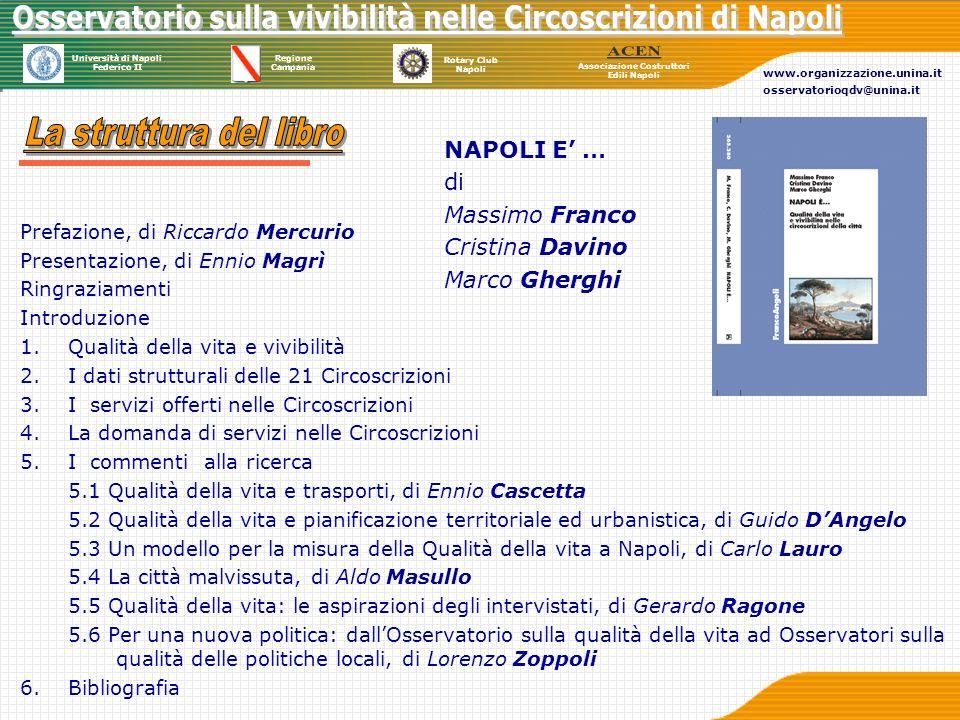 La struttura del libro NAPOLI E' … di Massimo Franco Cristina Davino