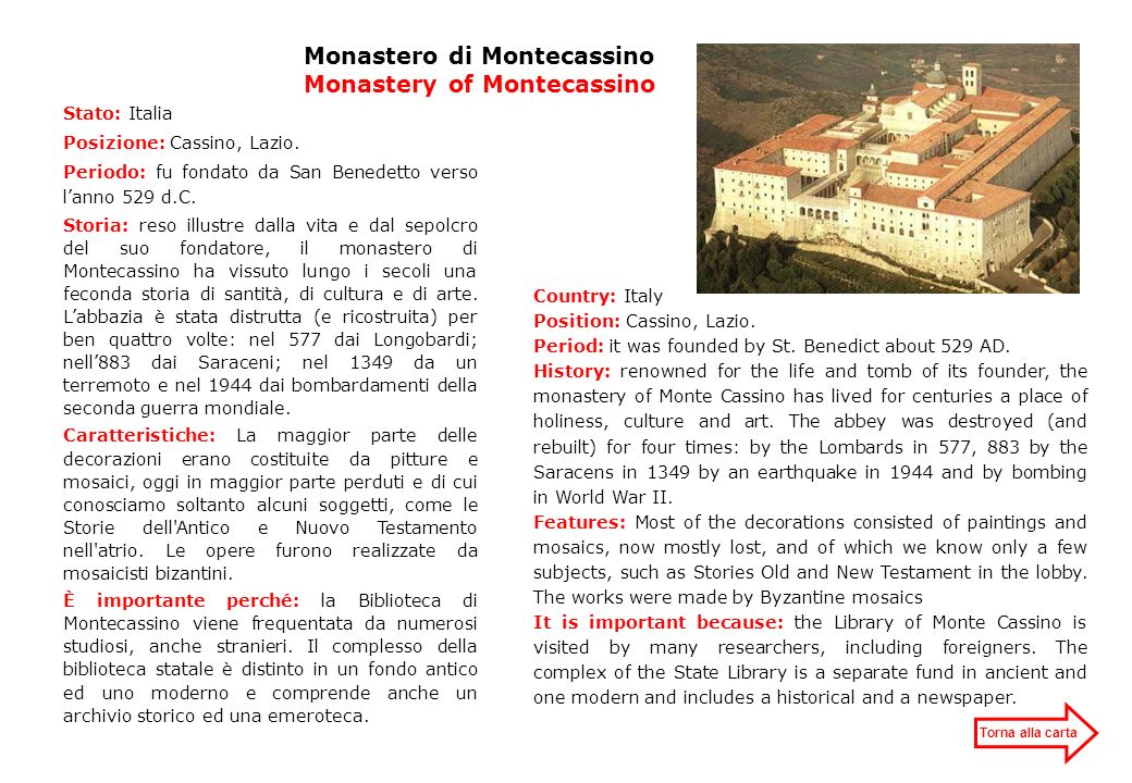 Monastero di Montecassino Monastery of Montecassino