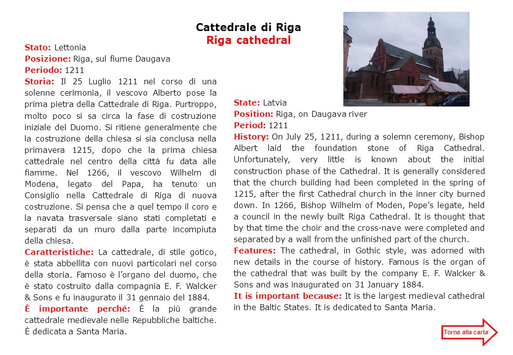 Cattedrale di Riga Riga cathedral