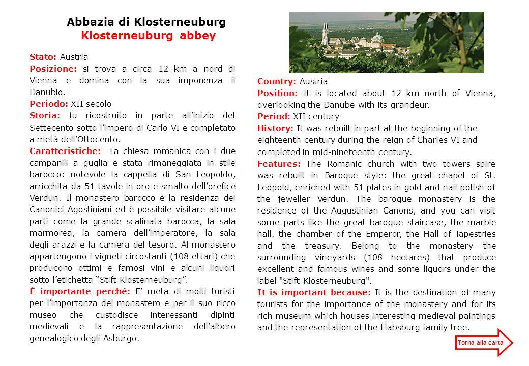 Abbazia di Klosterneuburg Klosterneuburg abbey
