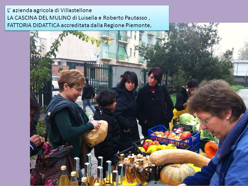 L' azienda agricola di Villastellone
