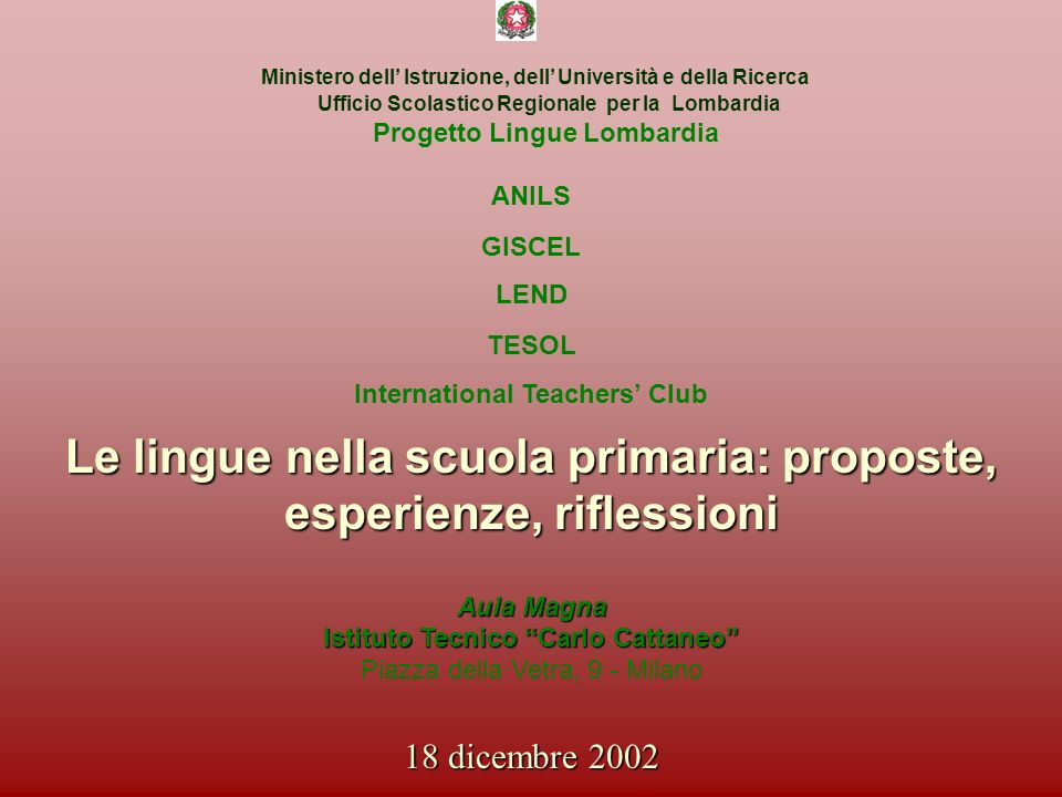 Le lingue nella scuola primaria: proposte, esperienze, riflessioni