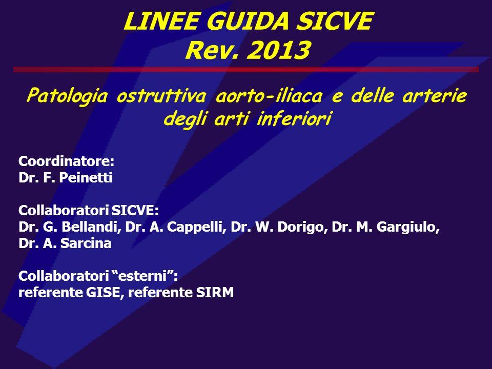 Patologia ostruttiva aorto-iliaca e delle arterie degli arti inferiori