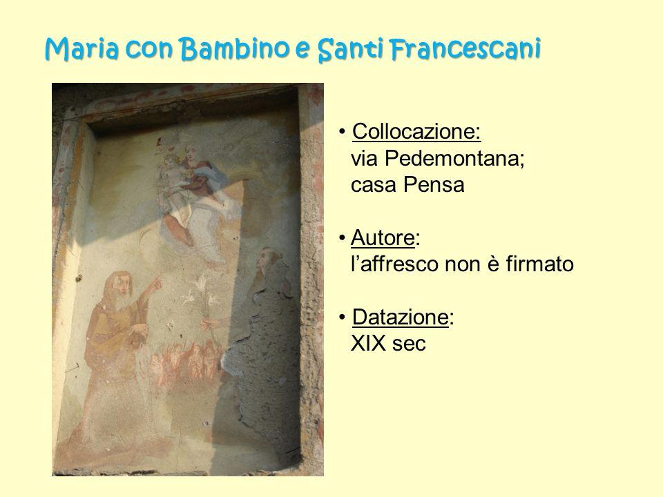 Maria con Bambino e Santi Francescani