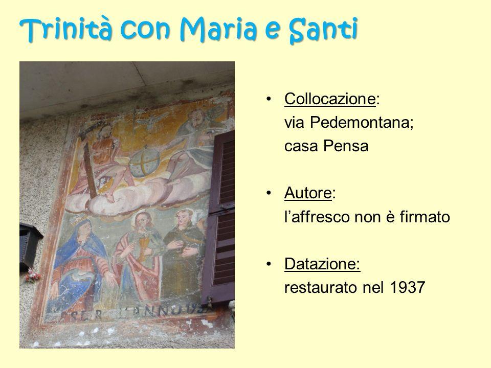 Trinità con Maria e Santi