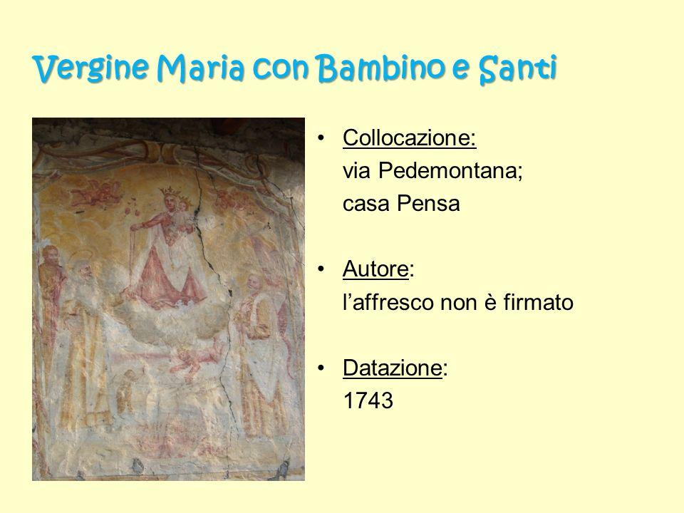 Vergine Maria con Bambino e Santi