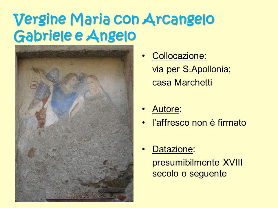 Vergine Maria con Arcangelo Gabriele e Angelo