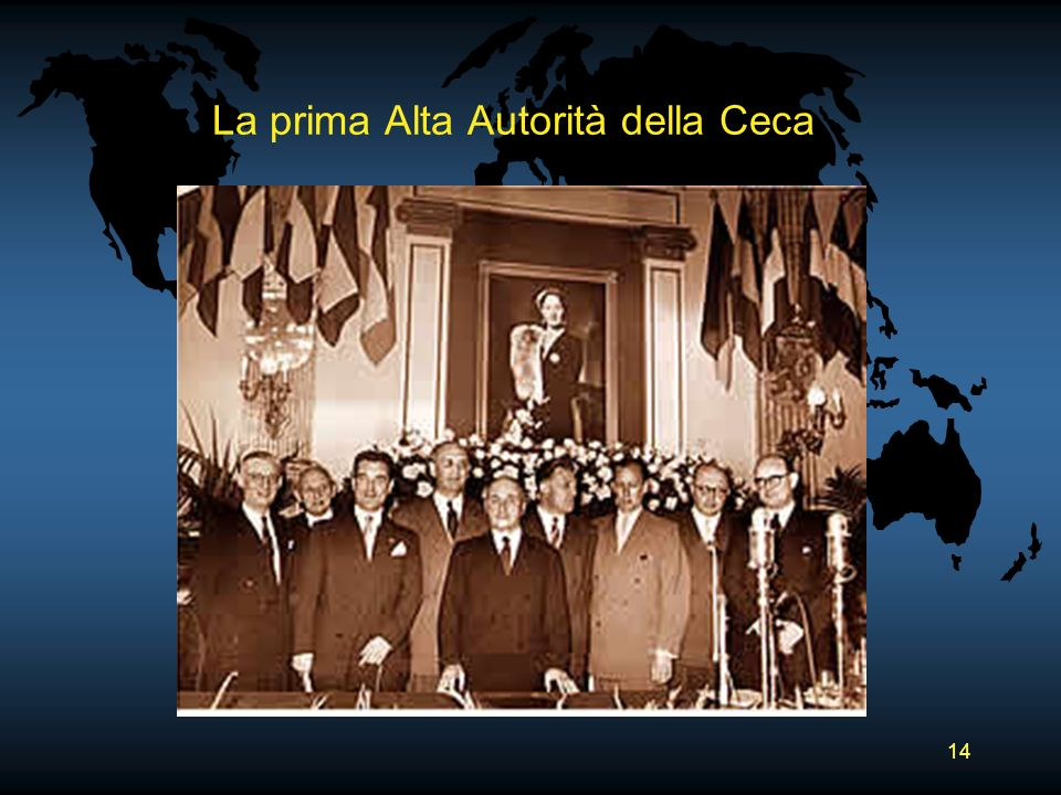 La prima Alta Autorità della Ceca