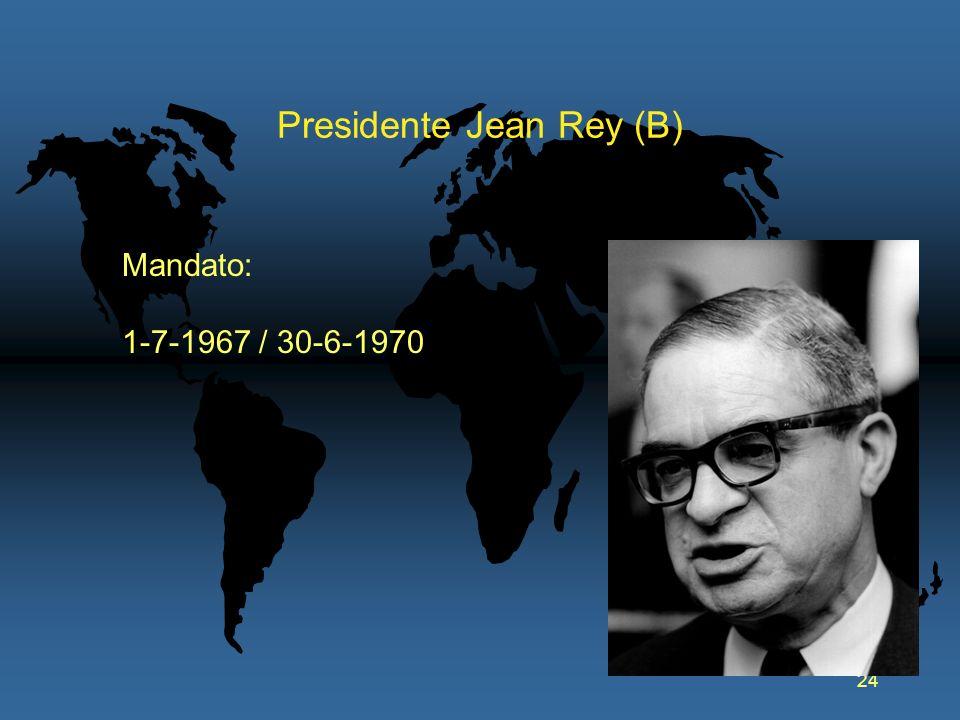 Presidente Jean Rey (B)