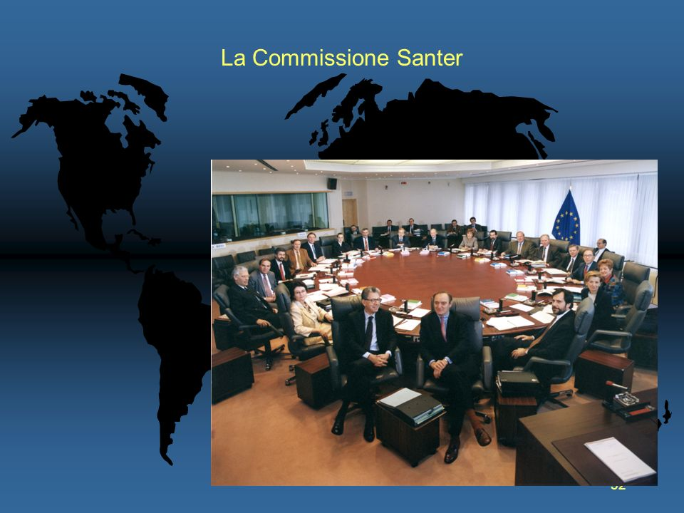 La Commissione Santer
