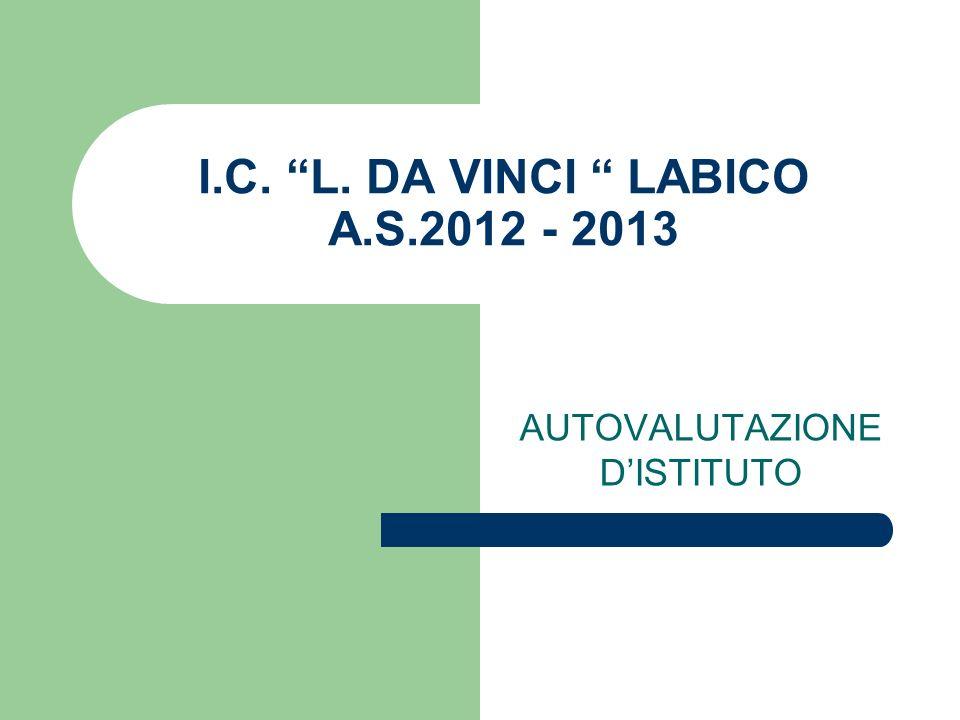 I.C. L. DA VINCI LABICO A.S.2012 - 2013
