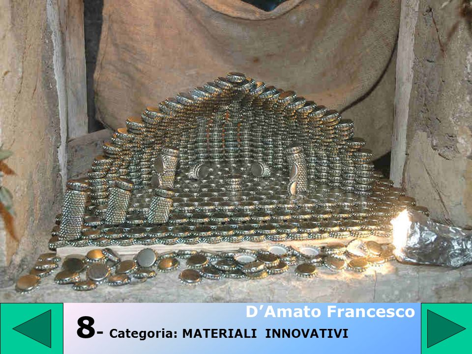 8- Categoria: MATERIALI INNOVATIVI