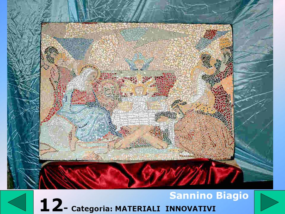 12- Categoria: MATERIALI INNOVATIVI