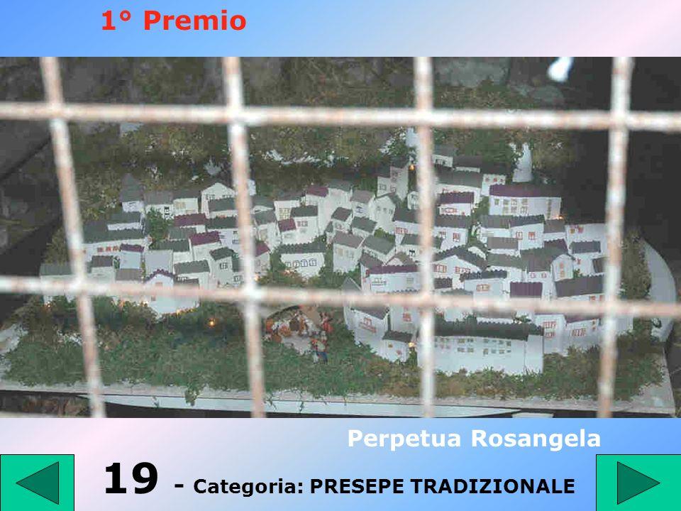 19 - Categoria: PRESEPE TRADIZIONALE