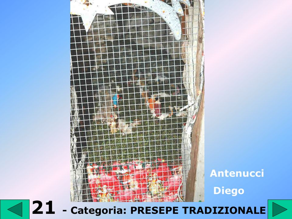 21 - Categoria: PRESEPE TRADIZIONALE