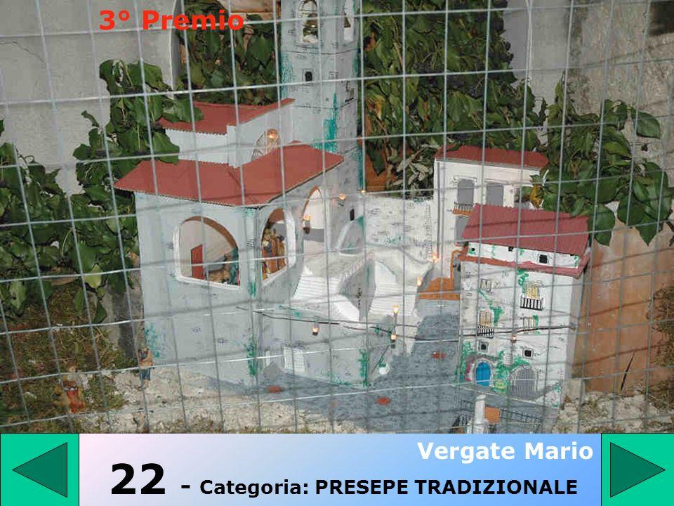 22 - Categoria: PRESEPE TRADIZIONALE