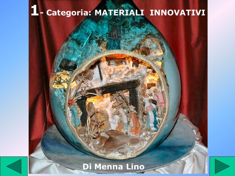 1- Categoria: MATERIALI INNOVATIVI