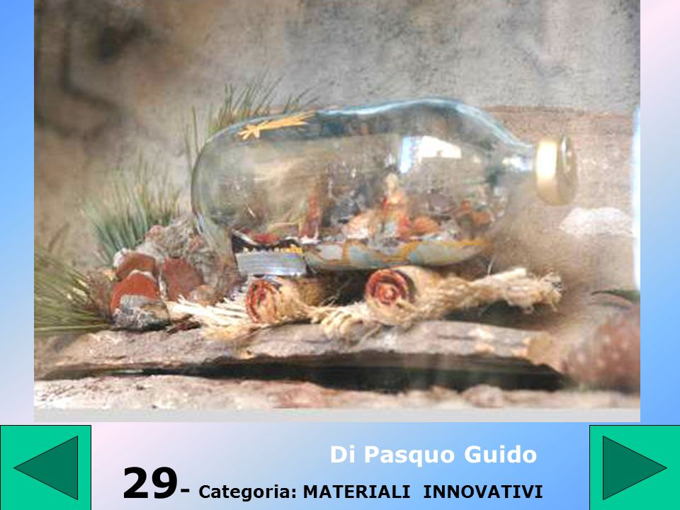 29- Categoria: MATERIALI INNOVATIVI
