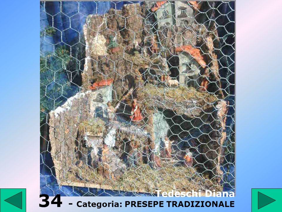 34 - Categoria: PRESEPE TRADIZIONALE