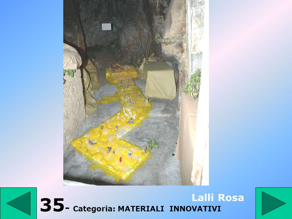 35- Categoria: MATERIALI INNOVATIVI
