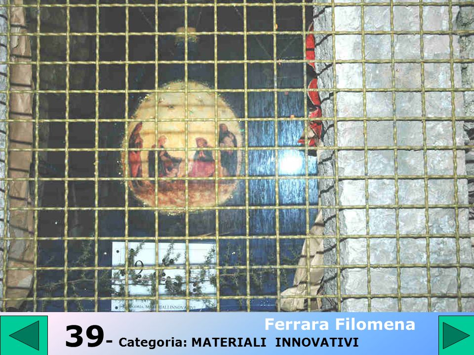 39- Categoria: MATERIALI INNOVATIVI