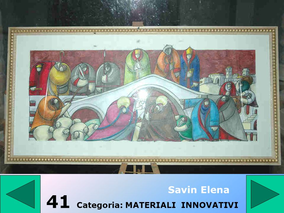 41 Categoria: MATERIALI INNOVATIVI