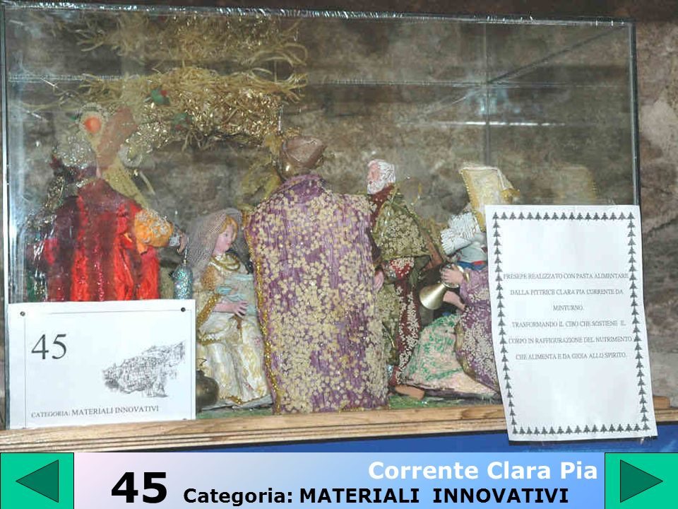 45 Categoria: MATERIALI INNOVATIVI