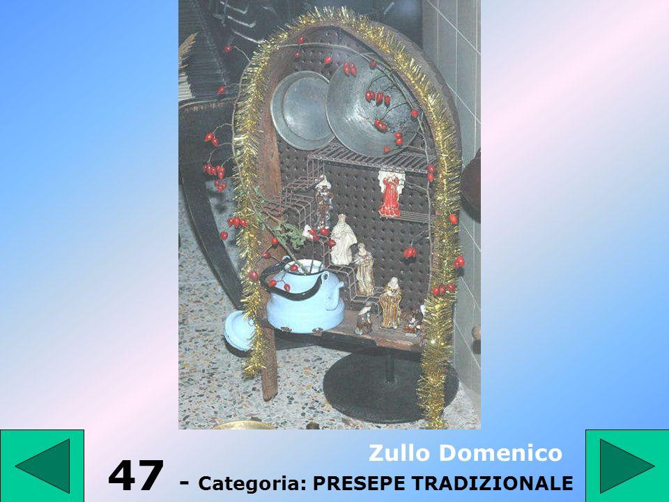 47 - Categoria: PRESEPE TRADIZIONALE