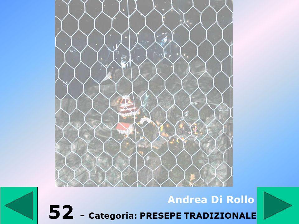 52 - Categoria: PRESEPE TRADIZIONALE