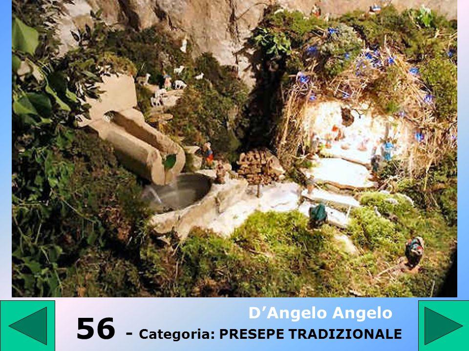 56 - Categoria: PRESEPE TRADIZIONALE