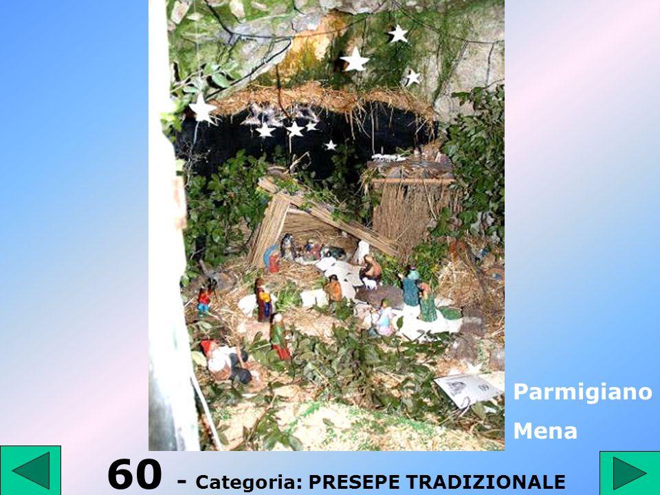 60 - Categoria: PRESEPE TRADIZIONALE