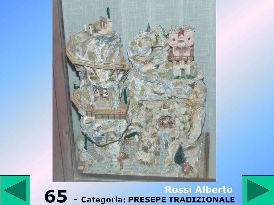 65 - Categoria: PRESEPE TRADIZIONALE