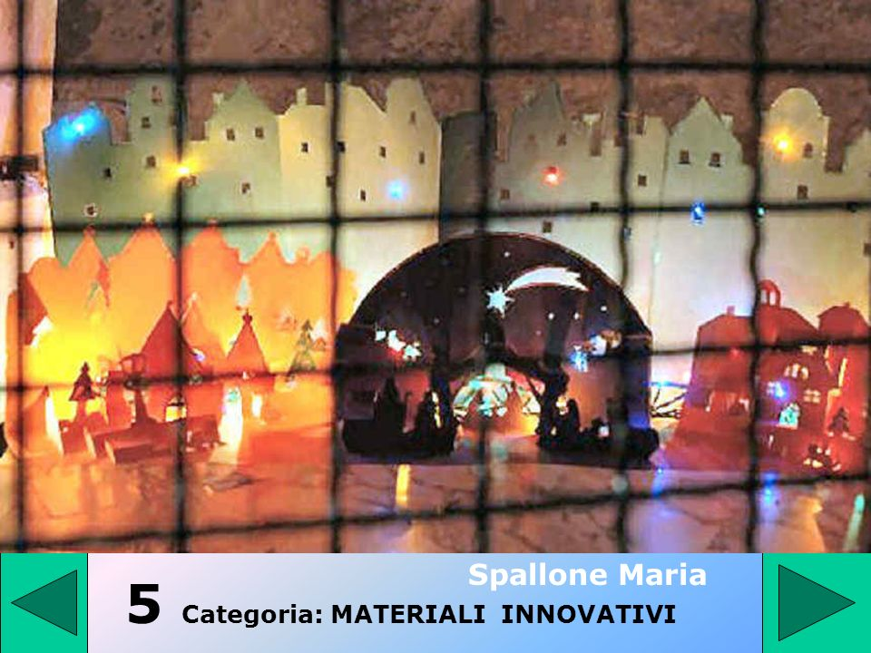 5 Categoria: MATERIALI INNOVATIVI