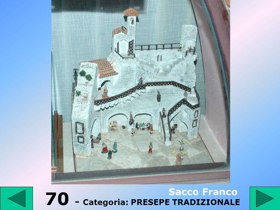 70 - Categoria: PRESEPE TRADIZIONALE