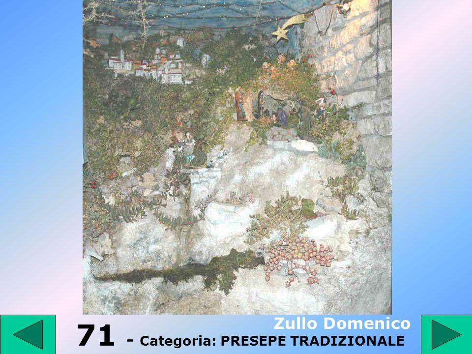71 - Categoria: PRESEPE TRADIZIONALE