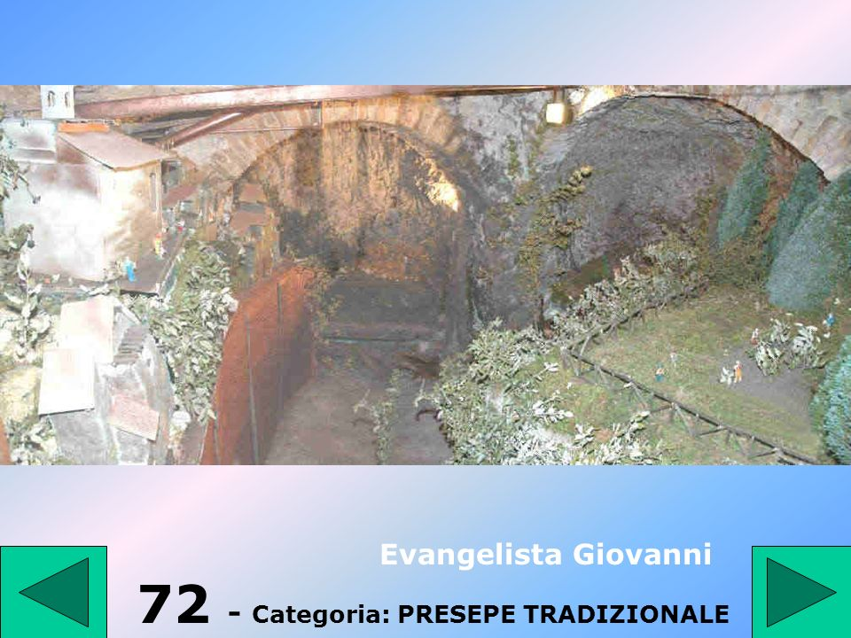 72 - Categoria: PRESEPE TRADIZIONALE