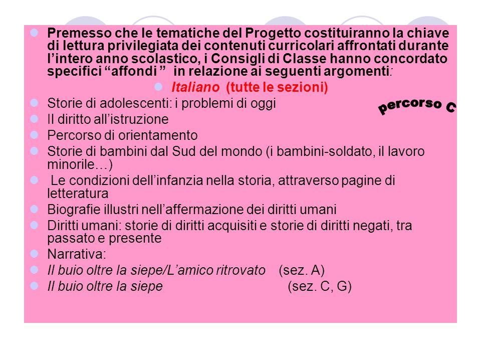 Italiano (tutte le sezioni)