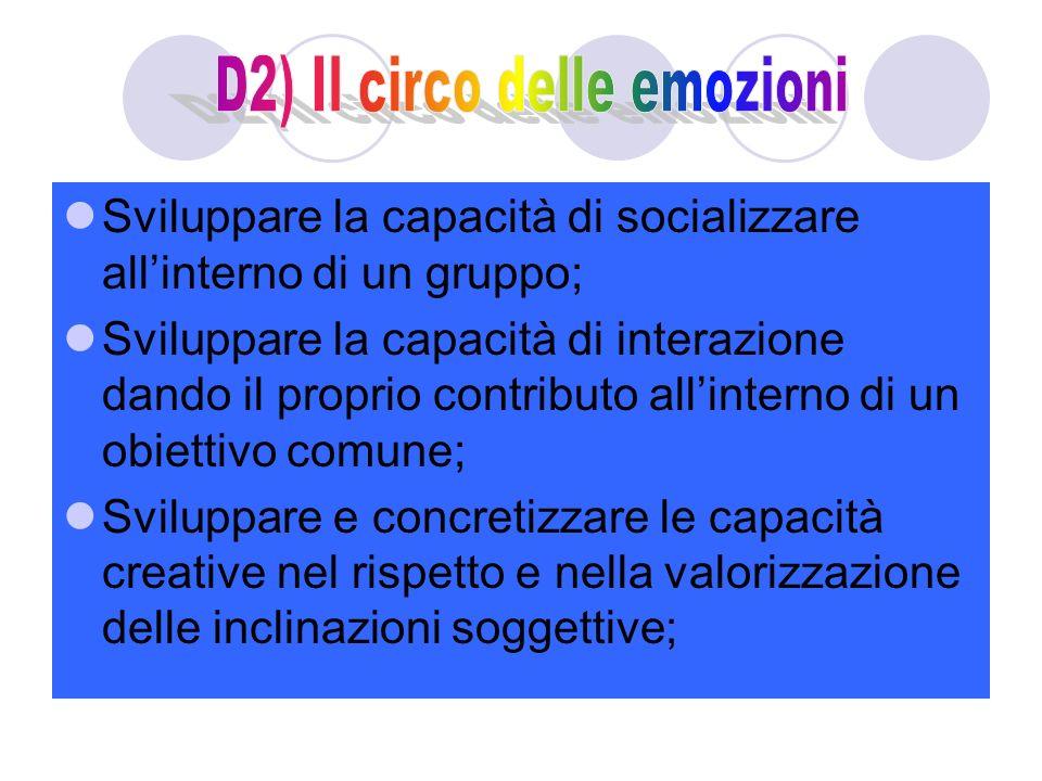D2) Il circo delle emozioni