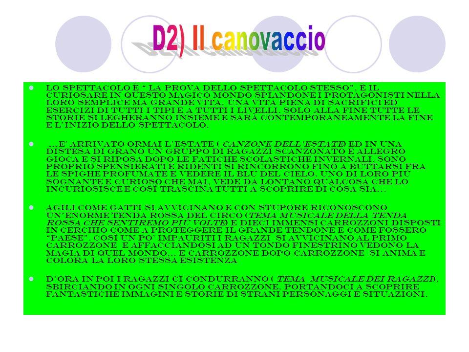 D2) Il canovaccio